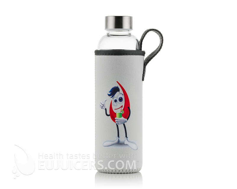 Borosilicate Glass Bottle with EUJ sleeve