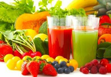 ovocné šťavy